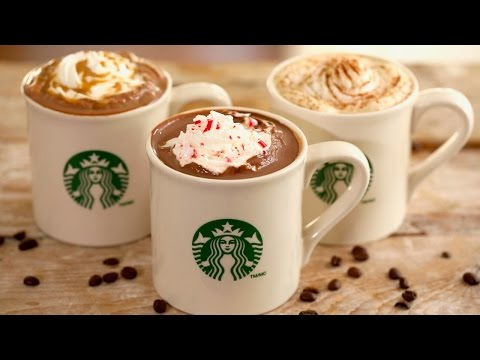Video Homemade Starbucks Drinks - Gemma's Bigger Bolder Baking Ep 148
