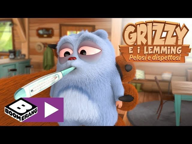 I Lemming ammalati | Grizzy e i Lemming | Boomerang
