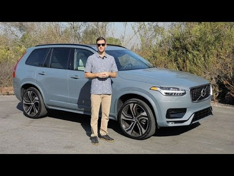 2020 Volvo XC90 R-Design Test Drive Video Review