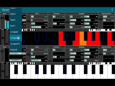 Video of FM Synthesizer [SynprezFM II]