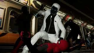 Spider-Man and Mr. Negative Train Fight (Far From Home Suit Walkthrough) - Marvel's Spider-Man