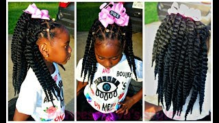 Diva First Day Of 3rd Grade Hairstyle & OOTD | All The Girls Get Crochet Hairstyles