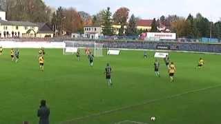 preview picture of video 'Futbal 18.10.2014,FK Spišská Nová Ves,góly'