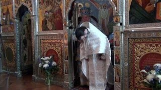 2013.11.24. Ordination of Damian Dantinne into Holy Priesthood by Metropolitan Hilarion