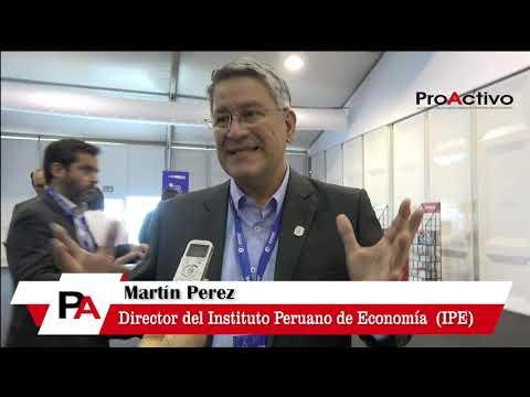 #CADE2018 - Entrevista a Martín Pérez, Director del Instituto Peruano de Economía