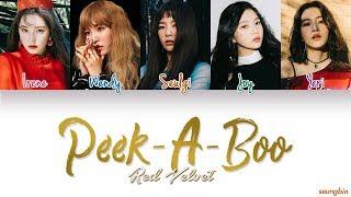 Gambar cover Red Velvet (레드벨벳) 'Peek-A-Boo' [Color Coded Han|Rom|Eng lyrics]