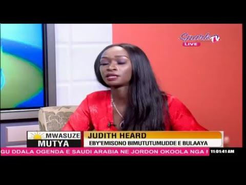 MWASUZE MUTYA: Judith Heard eby'emisono bimututumudde e bulaaya