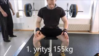 Maksiminostot (kyykky, penkki, veto) 2016, Tuukka Heikkinen