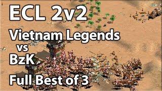 ECL Africa 2v2 | Vietnam Legends vs BzK | Full Best of 3!