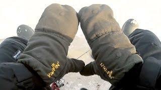 Флисовые рукавицы для рыбалки с алиэкспресс