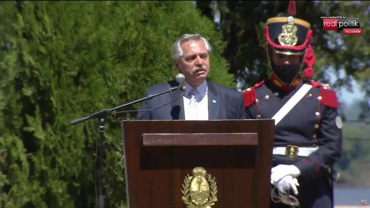 Homenaje a San Martín: Alberto Fernández encabeza el acto a gobernadores de Norte Grande