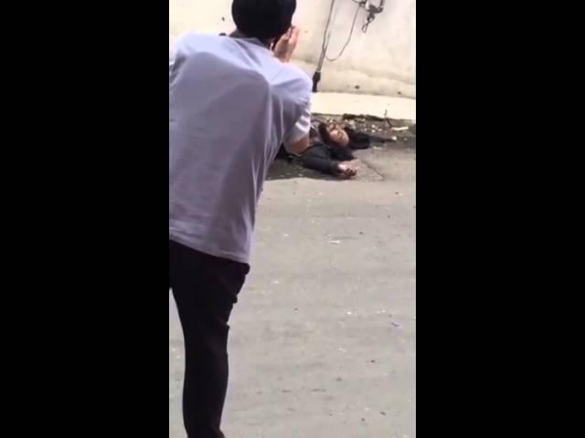 فيديو للارهابي يوسف الغامدي قتيلا