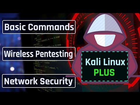Kali Linux Tutorial For Beginners (2021) : Full Kali Linux Course | Kali Linux Commands 2021