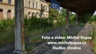preview picture of video 'Mrtvé nádraží Glubczyce'