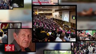 2019 10 09 #SinodoAmazonico The Amazon in the Synod Hall with the Pope