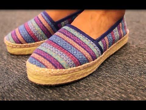 Alpargatas de plataforma #bbbShoes