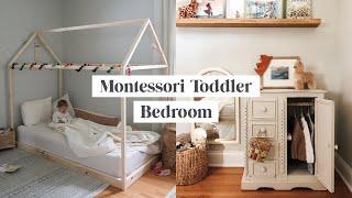 Montessori Inspired Toddler Bedroom Tour