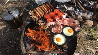Full English Breakfast On The Campfire With Neil Colston The Comic Chef