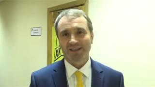Послематчевое интервью главного тренера ХК «Темиртау» Дмитрия Максимова.