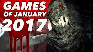 Top 10 NEW Games of January 2017