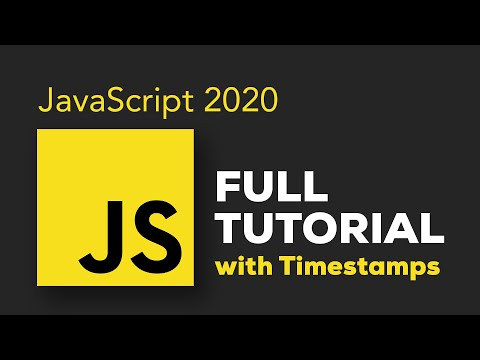 JavaScript Course for Beginners 2020 - Learn JavaScript from Scratch!