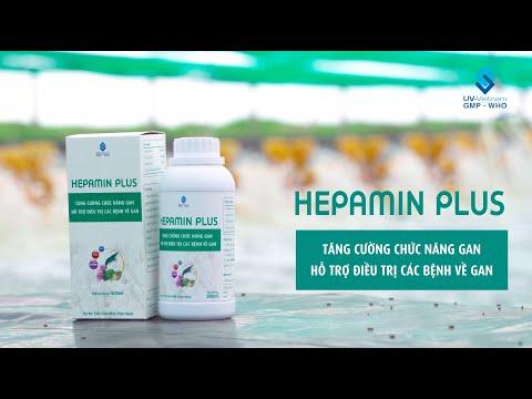 HEPAMIN PLUS - Thảo dược hỗ trợ điều trị các bệnh về gan cho tôm