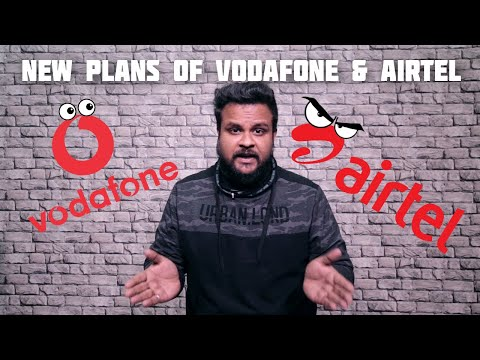 New plans of Vodafone and Airtel