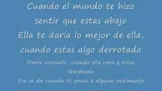 When you really love someone (subtitulos español) - Alicia Keys