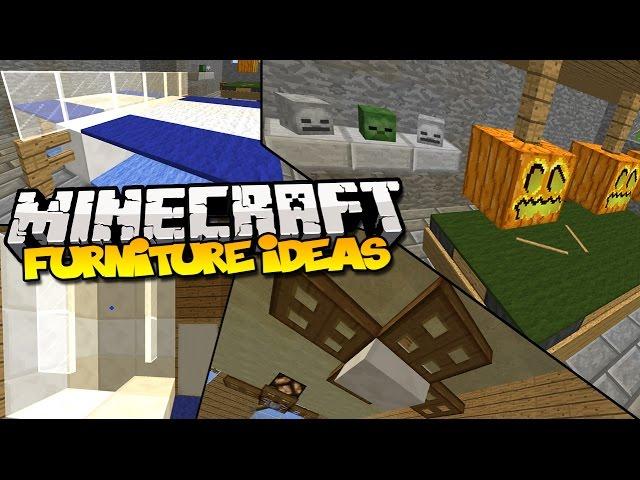 Top 10 Minecraft Furniture Ideas Simple Beginner Designs