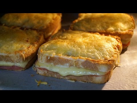 Cómo Preparar Un Sándwich Croque Monsieur Fácil y Rápido