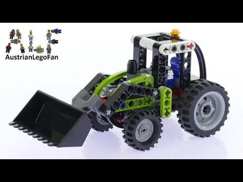 Vidéo LEGO Technic 8260 : Le mini tracteur
