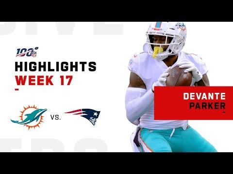 DeVante Parker Goes Off for 137 Yds   NFL 2019 Highlights