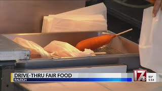 Drive-thru NC Fair food being offered again this weekend in Raleigh