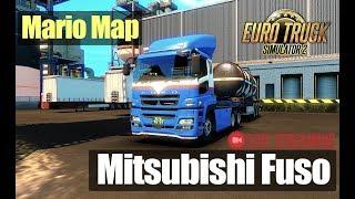ETS2●MARIO MAP●Mitsubishi Fuso●Live Stream●На руле Logitech G27