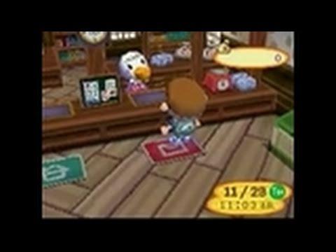 Видео № 1 из игры Animal Crossing: Wild World (US) (Б/У) (без коробочки) [DS]