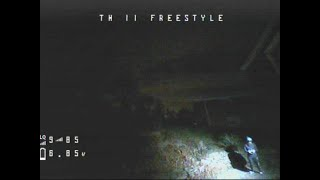 EMAX Tinyhawk Freestyle FPV at NIGHT! Will it ever fly again?!?!