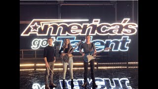 We Three - Behind The Scenes: AGT Judge Cuts