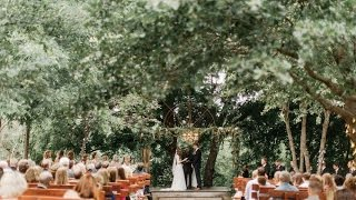 Beautiful Outdoor Forest Wedding With Personal Vows That Will Make You Cry!