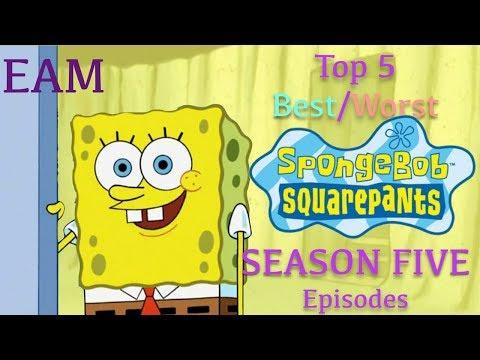 Top 5 Best/Worst SpongeBob Season 5 Episodes