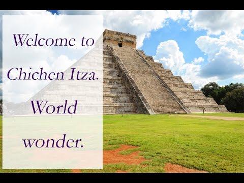 Chichen Itza Yucatan Mexico. Mayan ruins. Tour.