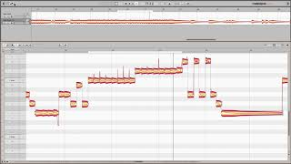 Melodyne 4: Editing Transient Attack with Sound Editor