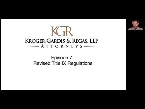 Episode 7 – Recent Title IX Updates