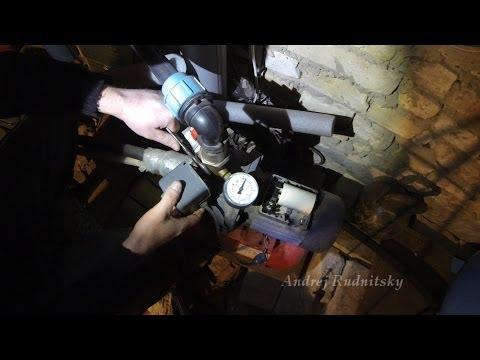 Ремонт насосной станции (реле давления)