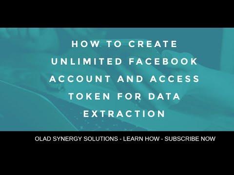 How to get Facebook Access Token in 1 minute (2019) - смотреть
