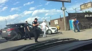 ДТП с полицией, ДСО в Одессе:  Дсо ехали по встречной полосе с включенными маяками (без сирены) обье