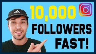 🤩 How to Gain Your First 10,000 Instagram Followers Fast 🔥