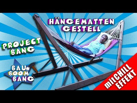 Hängemattengestell / Chill Effekt / Project Bang / Freizeit Genuss
