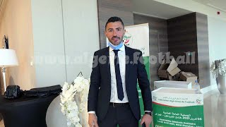 AG Ordinaire de la FAF au Shératon du Club des Pins à Alger
