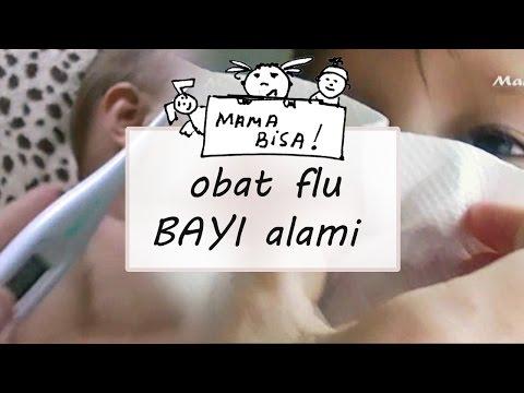 Video obat flu alami - penyakit bayi dan anak karena virus - batuk, pilek, demam