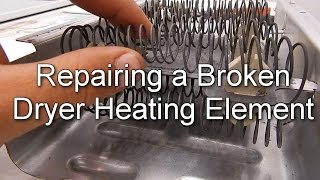 How to Repair a Broken Dryer Heating Element